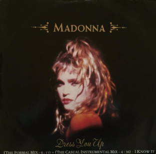 "Madonna - Dress You Up (12"") (G/G)"